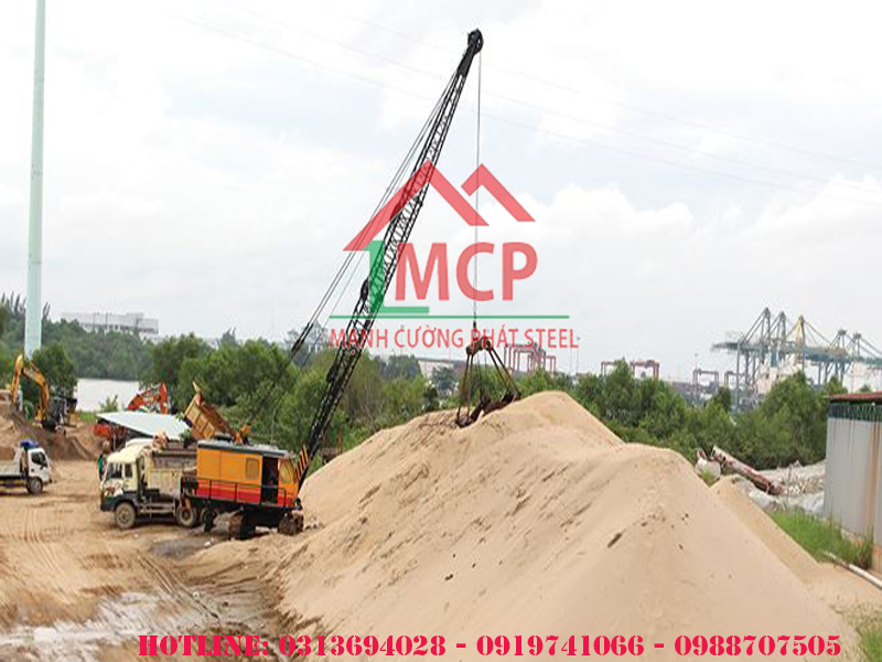 The latest price list of cheap construction sand April 27 2020